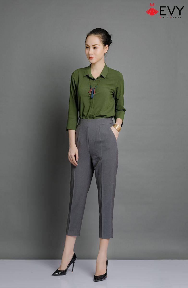 Chất liệu vải quyết định độ bền, đẹp của áo sơ mi nữ đẹp